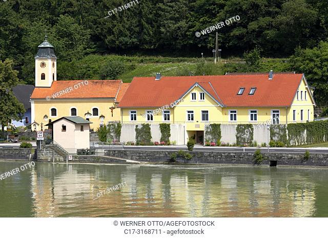 St. Nikola/Donau, Sarmingstein, Austria, Upper Austria, District Perg, Saint Nikola an der Donau, Muehlviertel, Strudengau, neighborhood Sarmingstein