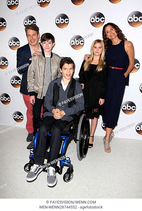 Disney ABC Television Group Hosts TCA Summer Press Tour Featuring: John Ross Bowie, Micah Fowler, Kyla Kenedy, Minnie Driver, Mason Cook Where: Beverly Hills