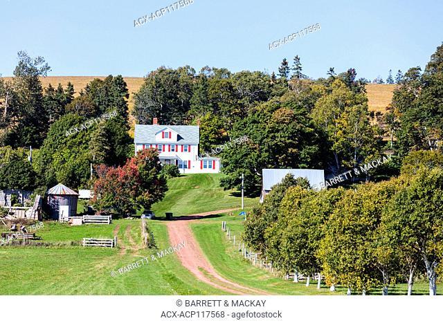 Farm, Pownal, Prince Edward Island, Canada