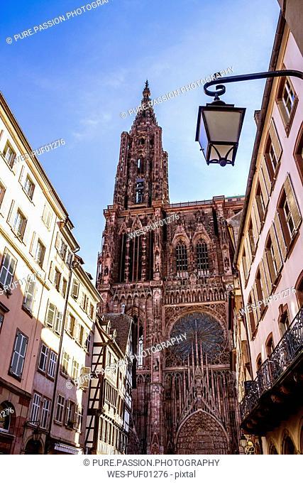 France, Alsace, Strasbourg, Old town