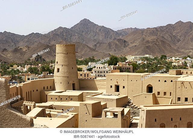 Hisn Tamah Fortress, Oasis City Bahla, Ad Dakhiliyah Province, Oman, Asia