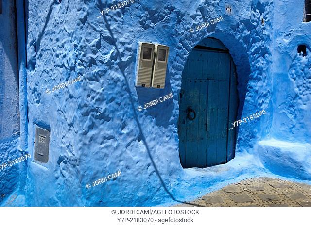 Chefchaouen, Rif region. Morocco.North Africa