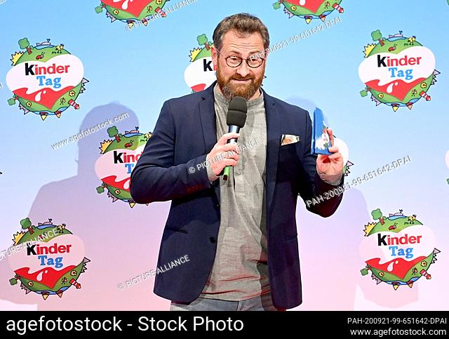 """20 September 2020, Berlin: Robert Hunke will be on stage at the """"""""kinder Tag 2019"""""""" at Radialsystem V. On the occasion of World Children's Day"""