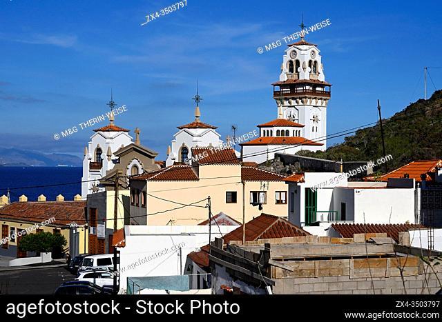 Nuestra Senora de Candelaria basilica, Candelaria city, Tenerife, Canary Islands, Spain