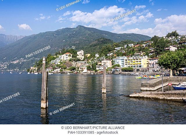 Switzerland Ticino Ascona 2 August 2017 | usage worldwide. - Ascona/Tessin/Switzerland