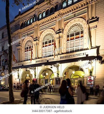 Spain, Catalonia, Catalunya, Barcelona, La Ramblas, El Liceu, Opera