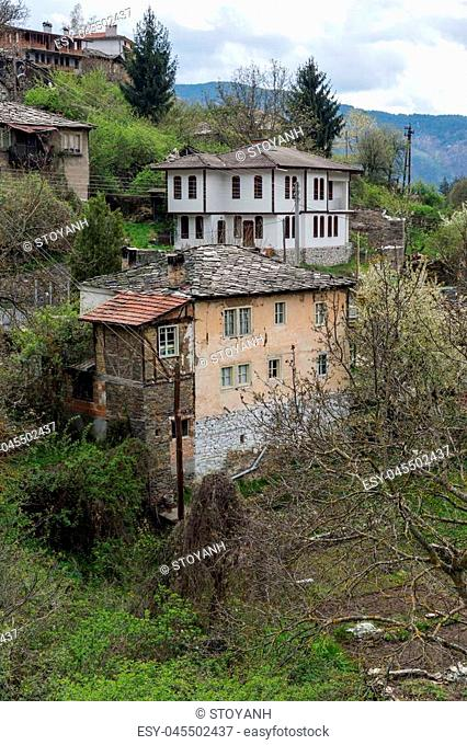 Authentic Village of Kosovo with nineteenth century houses, Plovdiv Region, Bulgaria