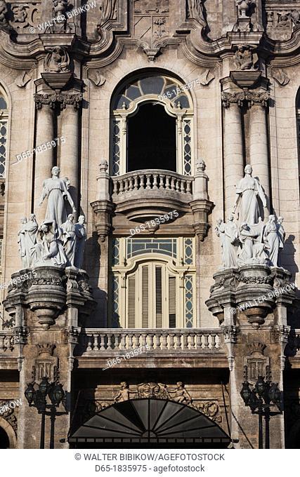 Cuba, Havana, Havana Vieja, Gran Teatro de a Habana