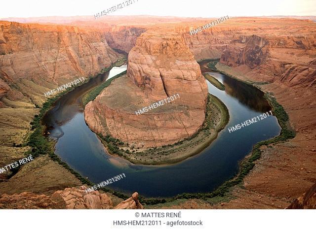 United States, Arizona, Glen Canyon National Recreation Area, Glen Canyon, Horseshoe Bend