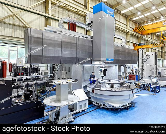 Construction of machine tools, machining centre, CNC, Vertical turning and Milling lathe, Metal industry, Gipuzkoa, Basque Country, Spain, Europe