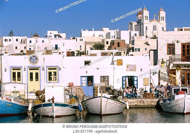 Paros Naoussa. Cyclades. Greece