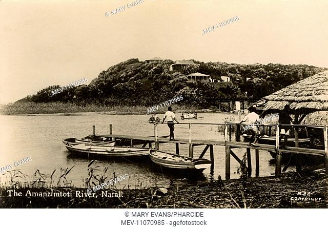 Amanzimtoti (Manzimtoti) River, Natal Province, South Africa
