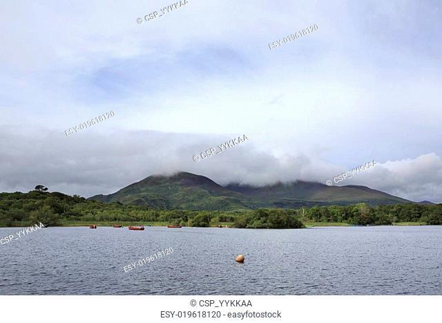 Cloud of mount near Lough Leane Lower Lake