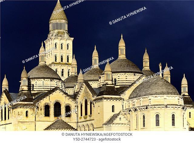 Perigueux, Saint Front Cathedral, Pilgrimage way to Santiago de Compostela, UNESCO World Heritage site, Perigord Blanc, Dordogne, Aquitaine, France , Europe