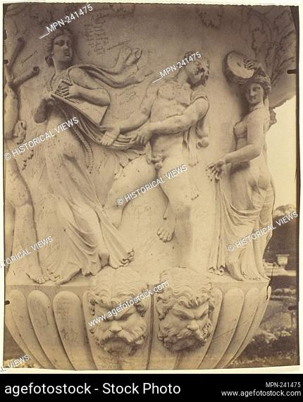 Versailles, Vase (Detail) - 1906 - Jean-Eugène-Auguste Atget French, 1857–1927 - Artist: Jean-Eugène-Auguste Atget, Origin: France, Date: 1906