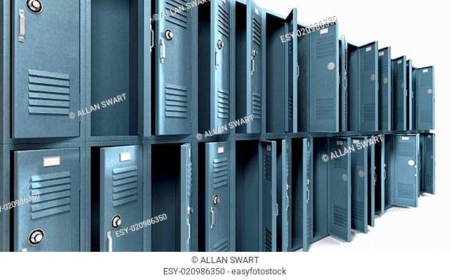 Empty Locker With Open Door Stock Photos And Images Agefotostock