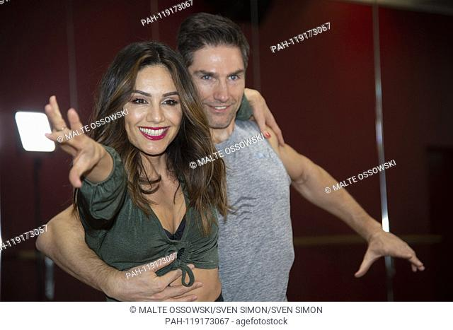 """Moderator Nazan ECKES, GER, Profitaenzer Christian Christian POLANC, Training for the RTL television show """"""""Let's Dance"""""""", Friday at 20:15 on RTL television, 09"""