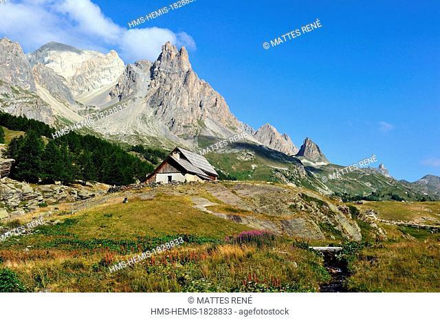France, Hautes Alpes, Brainconnais, Valley of Claree