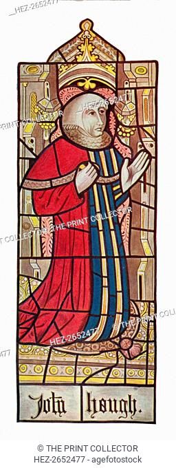 'John Hough - Serjeants at Law. (Long Melford Church, Suffolk)', 1903. Reproduction of a Medieval stained glass window in the Holy Trinity Church, Long Melford