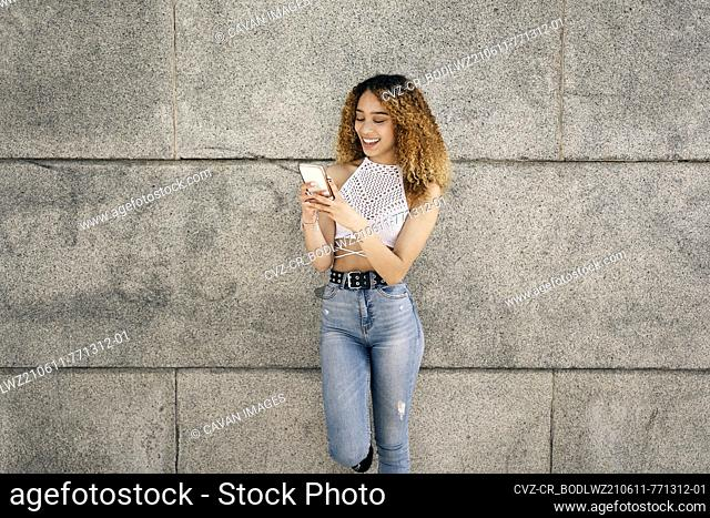 Portrait Of Latin Girl in the city