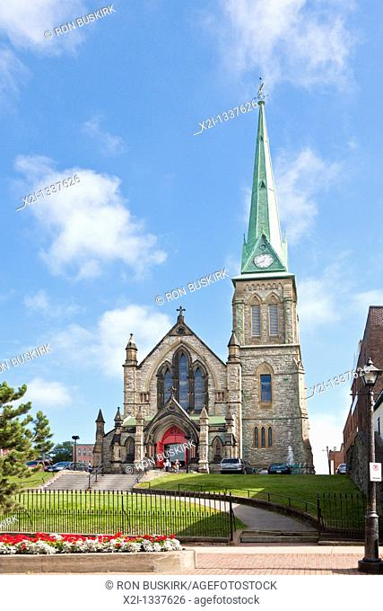 Trinity Anglican Church in Saint John, New Brunswick, Canada