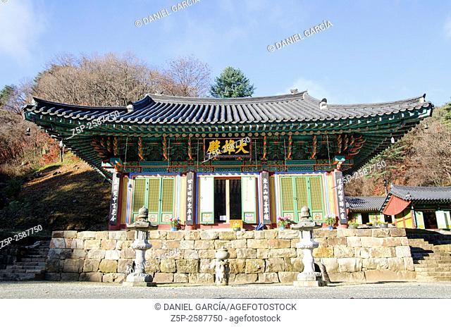 guryongsa temple at Chiaksan National Park