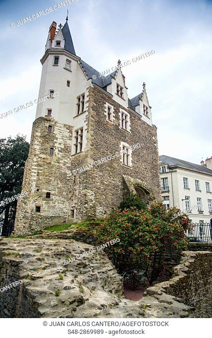 Porte saint pierre en Nantes. Paises del Loira. Francia. Europa