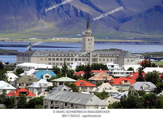 View of Reykjavik, Iceland, Europe