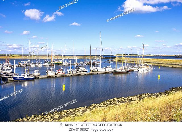 Port of Den Oever, North-Holland, Europe