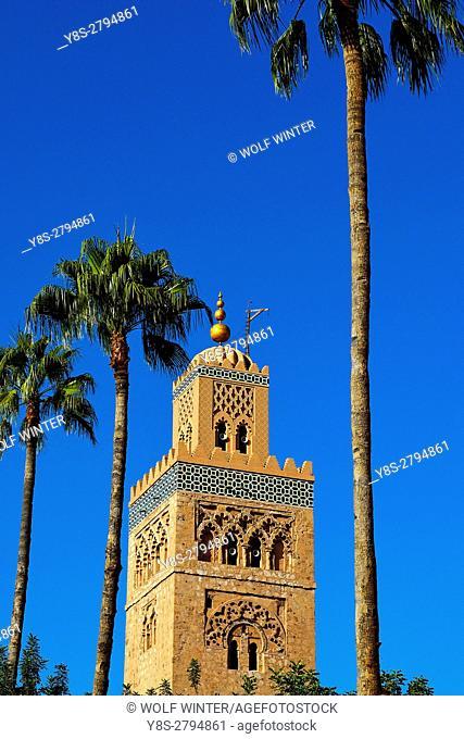 Koutoubia Mosque, Marakesh, Morocco