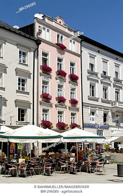 Passau Lower Bavaria Germany pedestrian area Ludwigstrasse