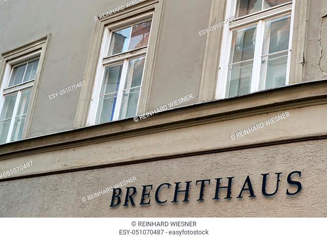 Birthplace of Berthold Brecht in Augsburg