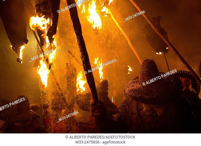 El Vitor, local festival. Mayorga de Campos, Valladolid province, Castile and Leon, Spain
