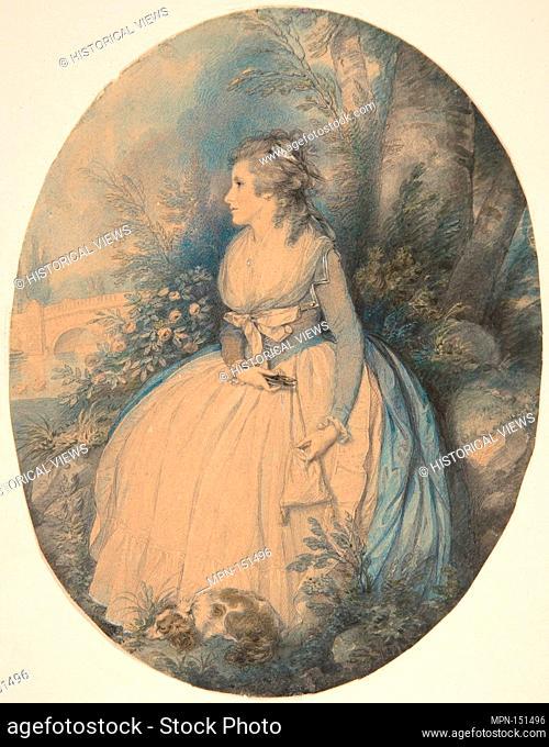 Mrs. Robinson as Perdita. Artist: Richard Cosway (British, Oakford, Devon 1742-1821 London); Sitter: Mary Perdita Robinson (British