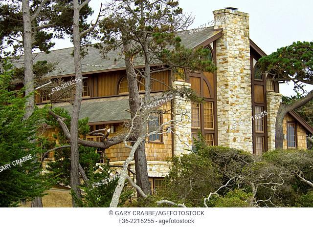 Buildings at the Asilomar Conference Center, Pacific Grove, Monterey Peninsula, California