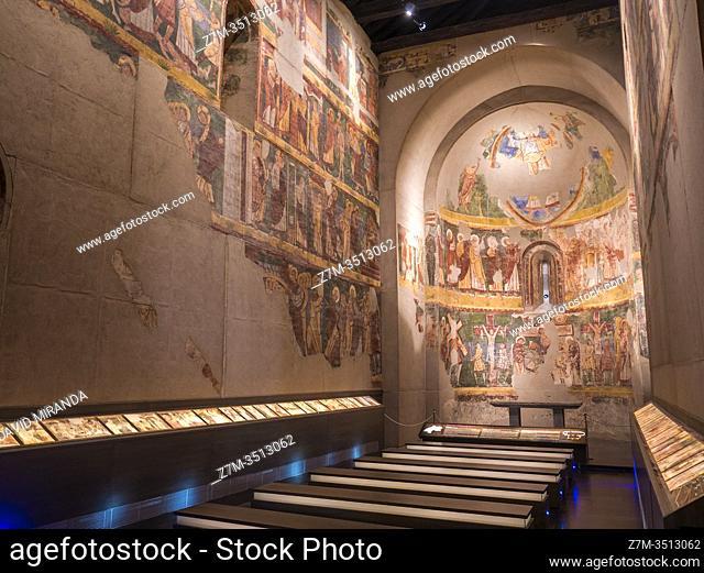 Museo diocesano de la Catedral de Jaca. Huesca. Aragón. Pirineos. España