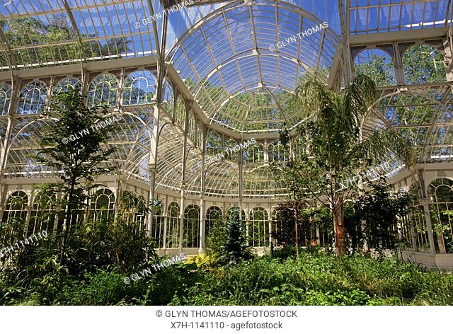Crystal Palace, Retiro Park, Madrid, Spain