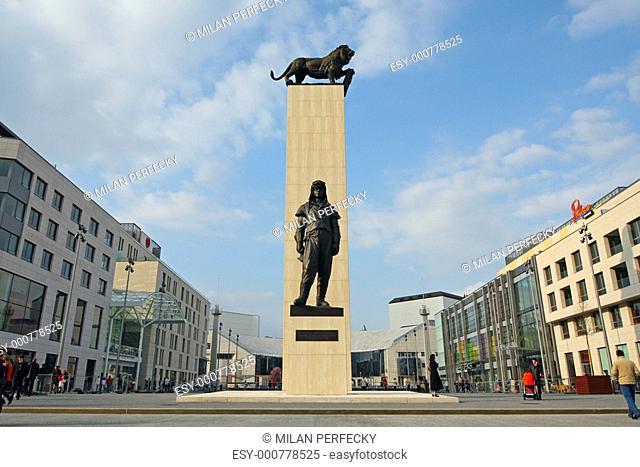 Statue of Stefanik in Bratislava