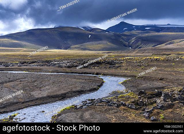Highlands of Iceland, Southern Region, Iceland