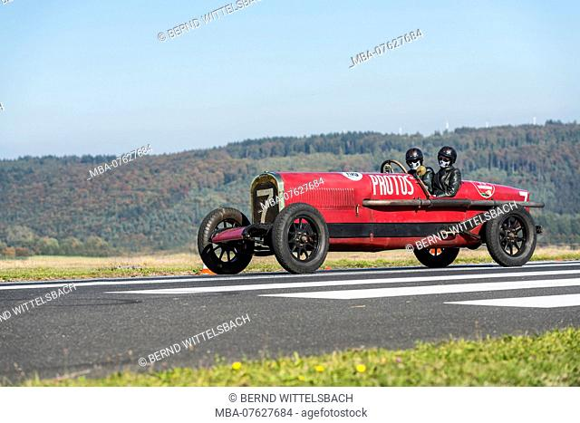 Michelstadt, Hesse, Germany, Protos NAG racing car, year of manufacture 1920, 6000 ccm, HP 160 on the event Pista & Piloti