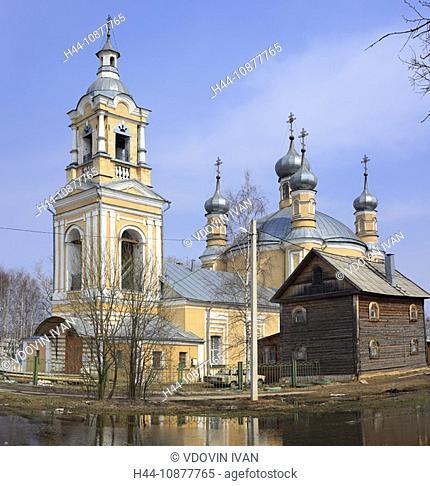 Church, St. Elijah the Prophet, 1804, Staritsa, Tver region, Russia
