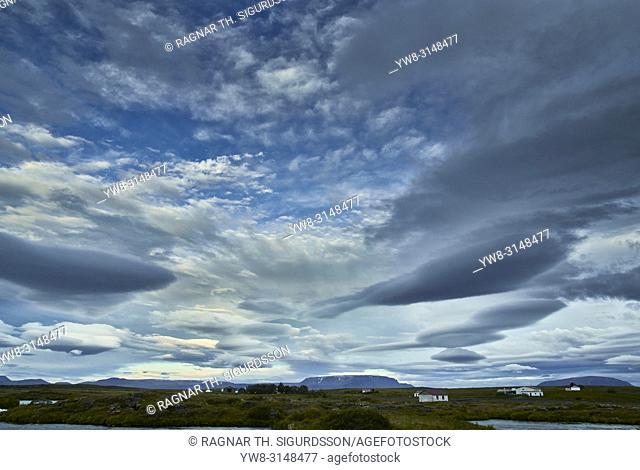 Cloudscape, Iceland