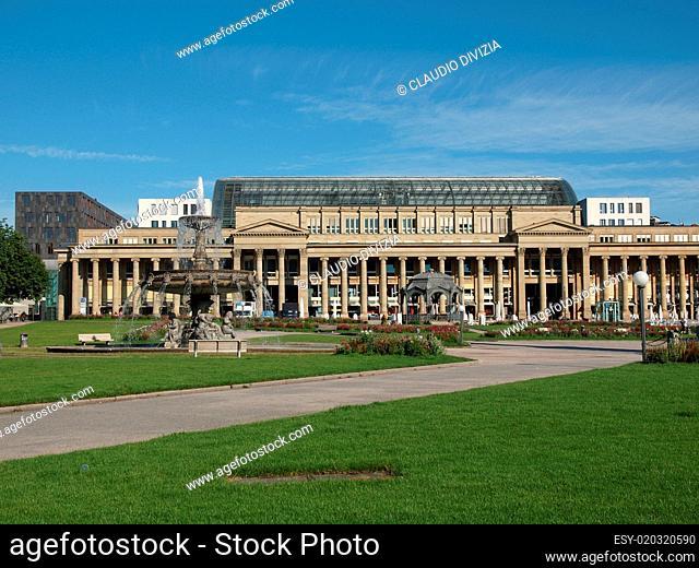 Schlossplatz (Castle square) Stuttgart