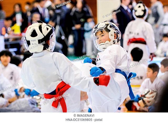 Match of Karate