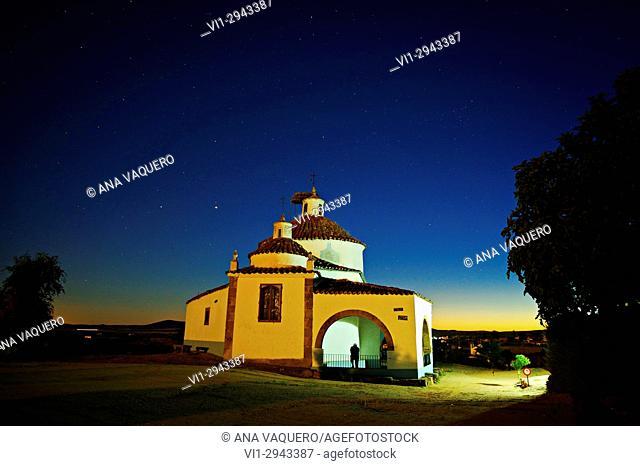 Night Photography, Hermitage San Bartolomé, Miajadas, Caceres, Extremadura