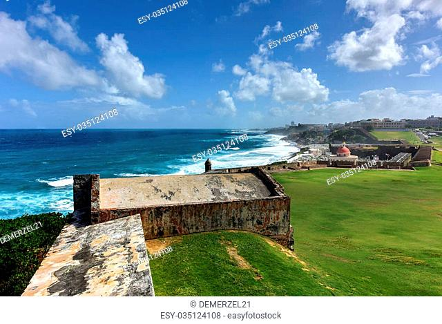 Castillo San Felipe del Morro also known as Fort San Felipe del Morro or Morro Castle. It is a 16th-century citadel located in San Juan, Puerto Rico