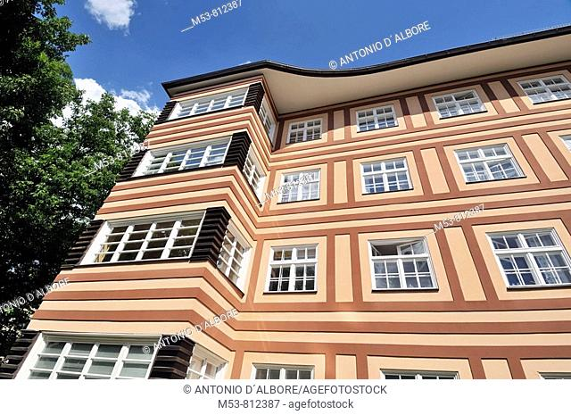typical home in Steglitz district  berlin  germany  europe
