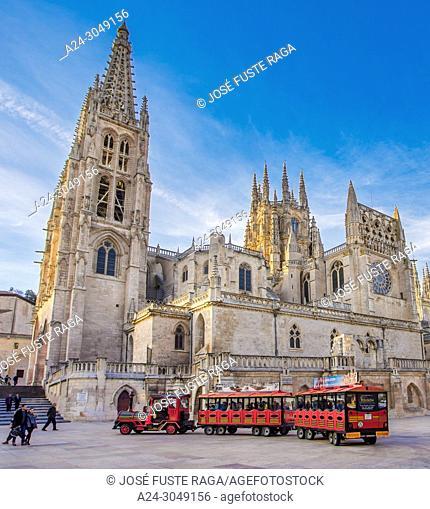 Spain, Burgos City, Burgos Cathedral (W. H. )