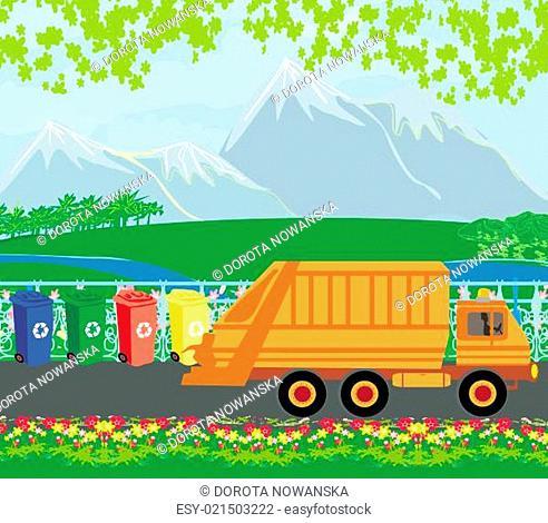 segregation of garbage card