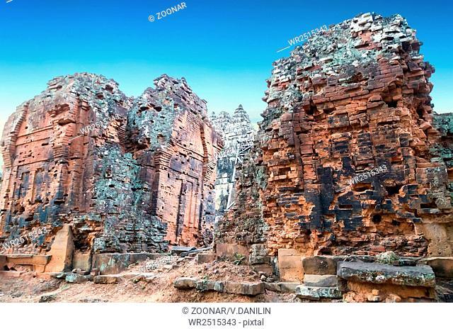 Angkor Wat, Khmer temple complex, Asia. Siem Reap, Cambodia